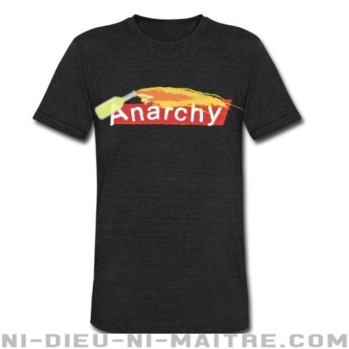 Anarchy - T-shirt produit localement Militant