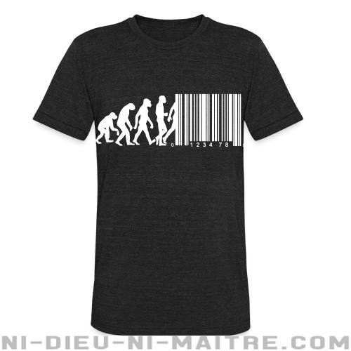 Bar code evolution - T-shirt produit localement Militant