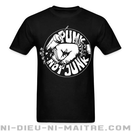 T-shirt standard (unisexe) Punk not junk - Punks & marginaux