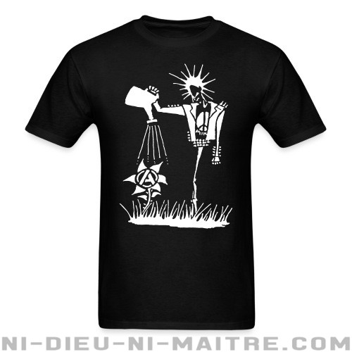 Punk planting the seeds of Anarchy - T-shirt Punk