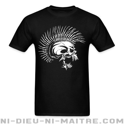 Punk Skull similar to The Exploited - T-shirt Punk