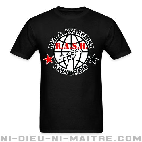 R.A.S.H. Red & Anarchist Skinheads - T-shirt Skinhead