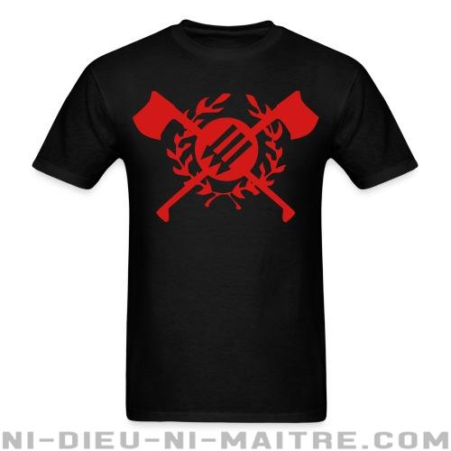 T-shirt standard unisexe RASH - Red & Anarchist Skinheads - Antifa & anti-racisme