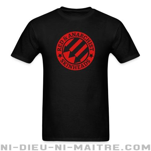 T-shirt standard unisexe Red & anarchist skinheads - Skinheads