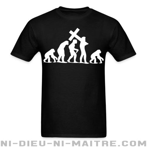 T-shirt standard (unisexe) Religion Regression - Athéisme