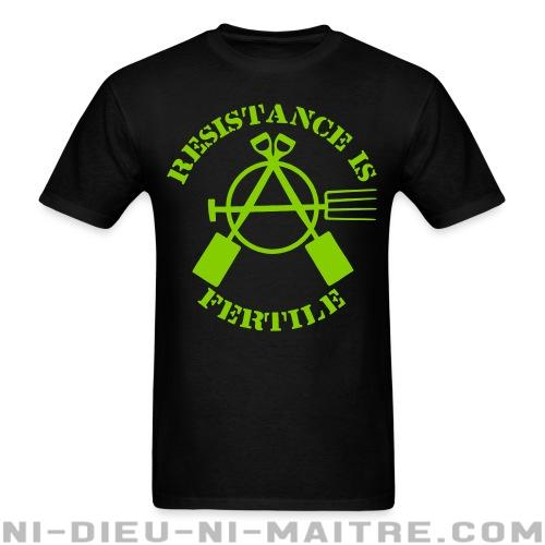 T-shirt standard unisexe Resistance is fertile - T-Shirts Militants