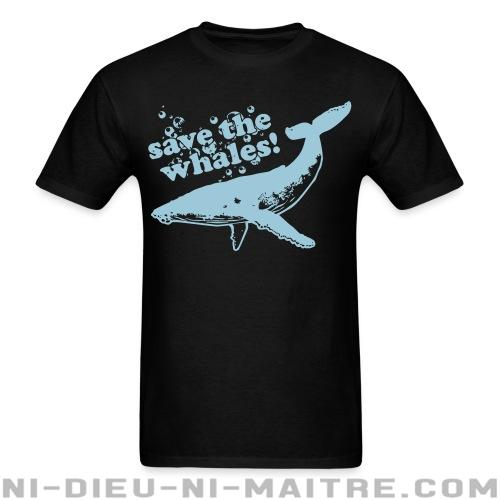 Save the whales - T-shirt véganes et libération animale