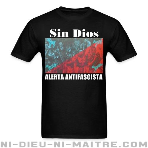 Sin Dios - Alerta antifascista - T-shirt Band Merch
