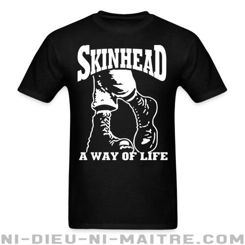 T-shirt ♂ Skinhead a way of life - Skinheads