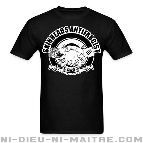 T-shirt standard unisexe Skinheads antifascist - fight nazi scum - Skinheads