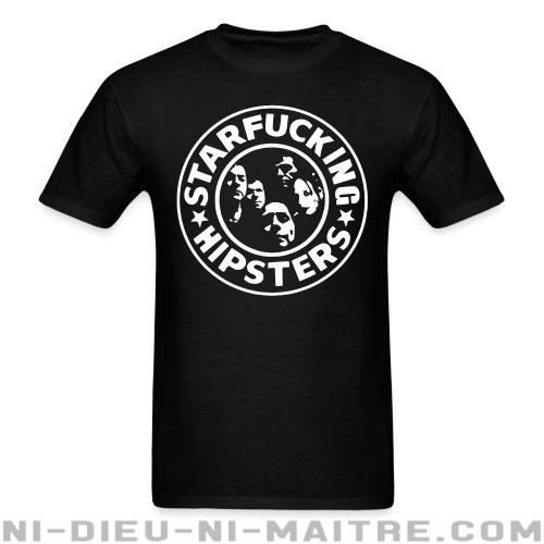 Star Fucking Hipsters - T-shirt Band Merch