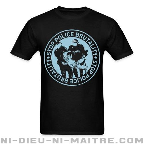T-shirt standard (unisexe) Stop police brutality - ACAB & Abus policiers