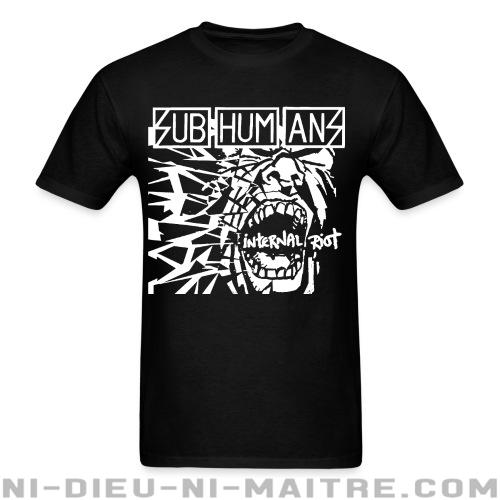 Subhumans - Internal riot - T-shirt Band Merch