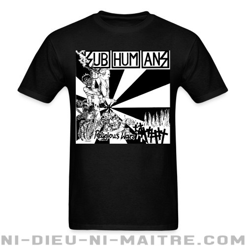 Subhumans - Religious wars - T-shirt Band Merch