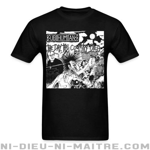 T-shirt ♂ Subhumans - The day the country died -