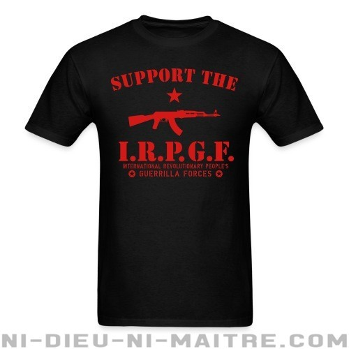 Support the IRPGF - T-shirt Rojava