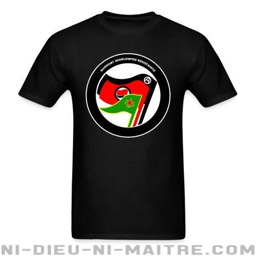 Support worldwide resistance - T-shirt Rojava