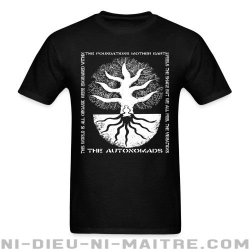 The Autonomads - The foundations mother earth - T-shirt Band Merch
