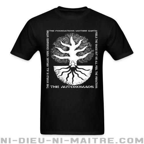 T-shirt standard (unisexe) The Autonomads - The foundations mother earth -