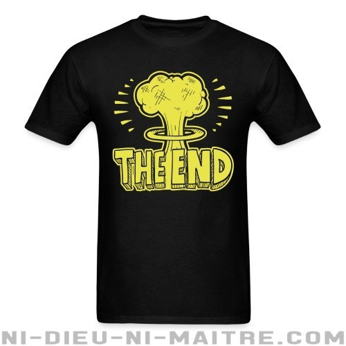 The end - T-shirt anti-guerre