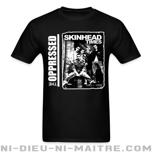 The Oppressed - Skinhead times - T-shirt Band Merch