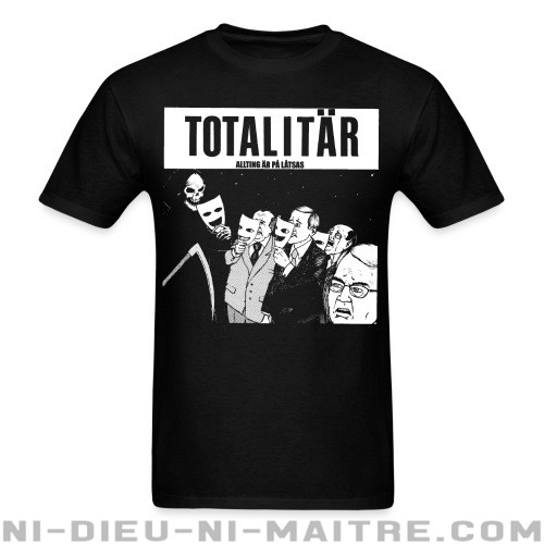 Totalitar - allting ar pa latsas - T-shirt Band Merch