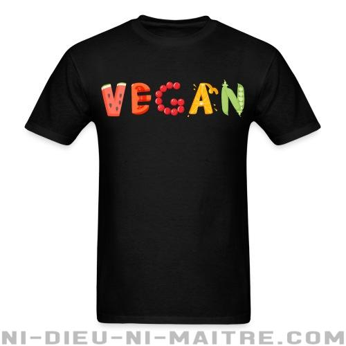 T-shirt standard unisexe Vegan - Vegan & Libération Animale