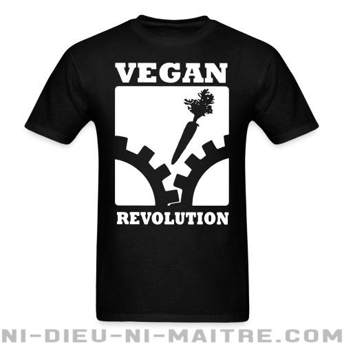 T-shirt standard (unisexe) Vegan revolution - Libération animale