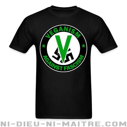 T-shirt standard unisexe Veganism against fascism - Vegan & Libération Animale