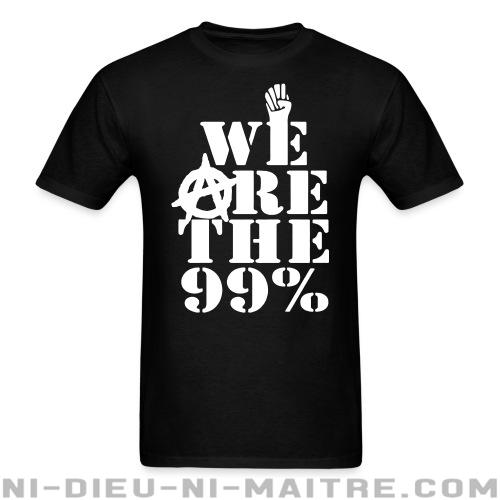 T-shirt standard unisexe We are the 99% - Anonymous