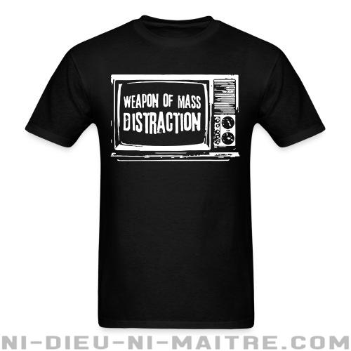 T-shirt standard unisexe Weapon of mass distraction - Anti-système & élections