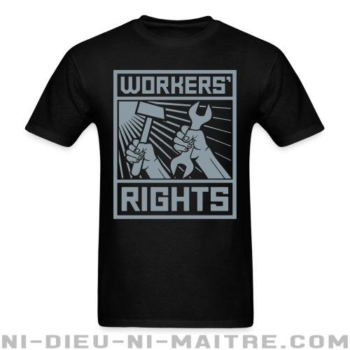 Workers' rights - T-shirt imprimé au dos Working Class
