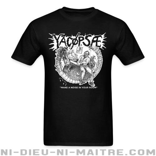 "Yacopsae ""Make a noise in your room"" - T-shirt Band Merch"