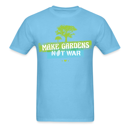 Make gardens not war