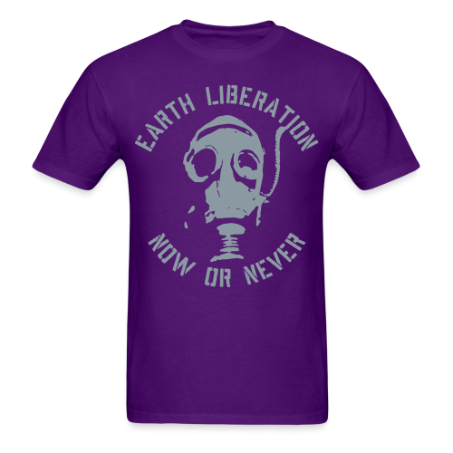 Earth liberation - now or never