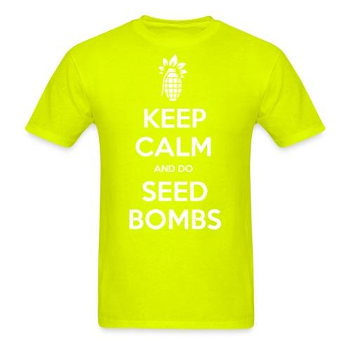 Keep calm and do seed bombs