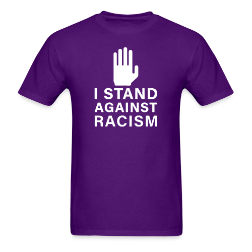 I stand against racism