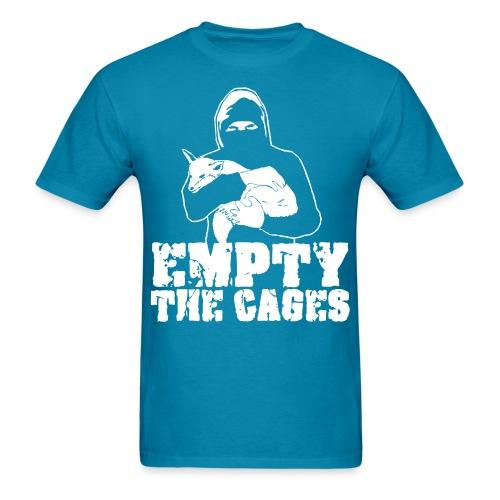 Empty the cages