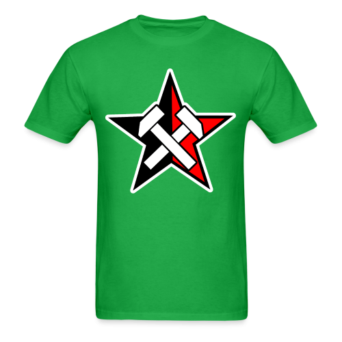 Working Class Black & Red Star