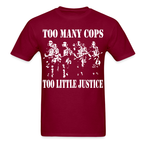 Too many cops, too little justice