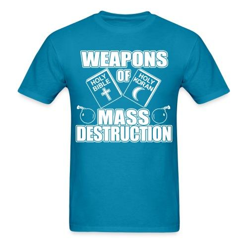 Weapons of mass destruction - holy bible holy koran