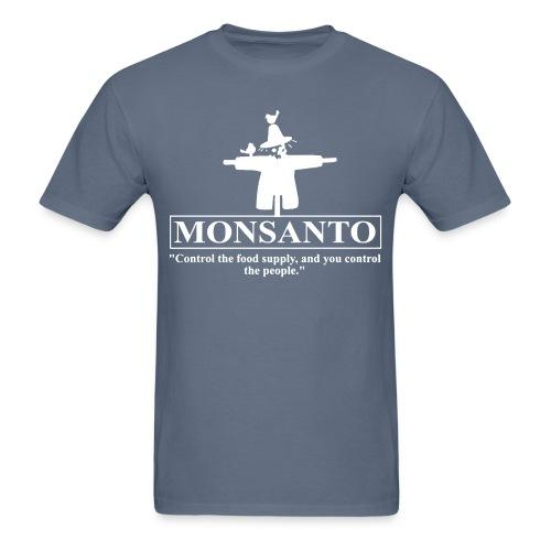 "Monsanto ""Control the food supply, and you control the people"""