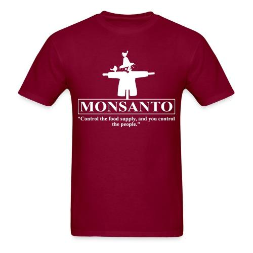 """Monsanto """"Control the food supply, and you control the people"""""""