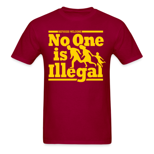 Refugees welcome - no one is illegal