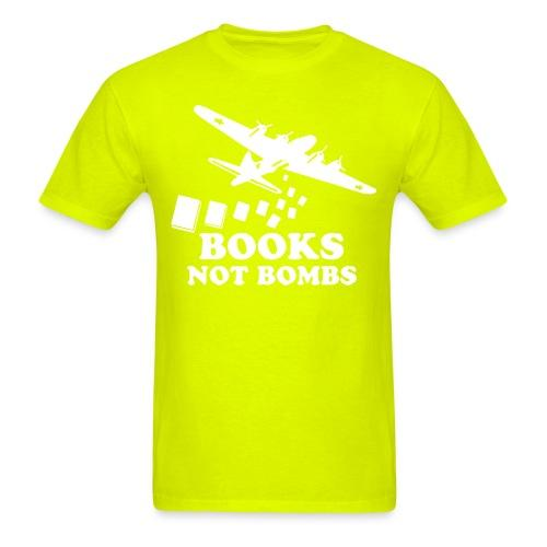 Books not bombs