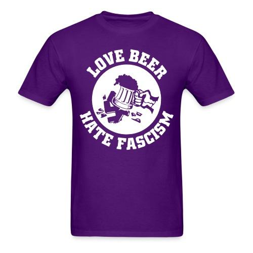 Love beer hate fascism