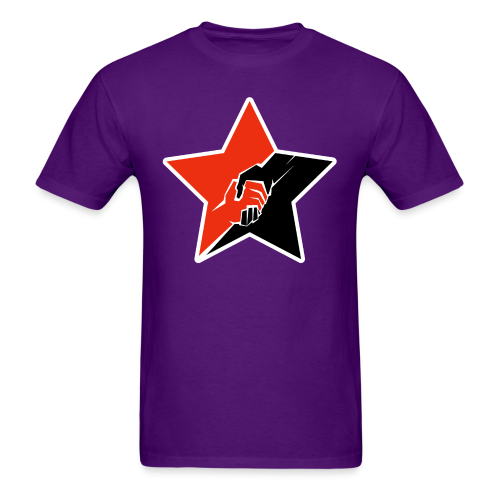 Anarcho-Communist Red & Black Star