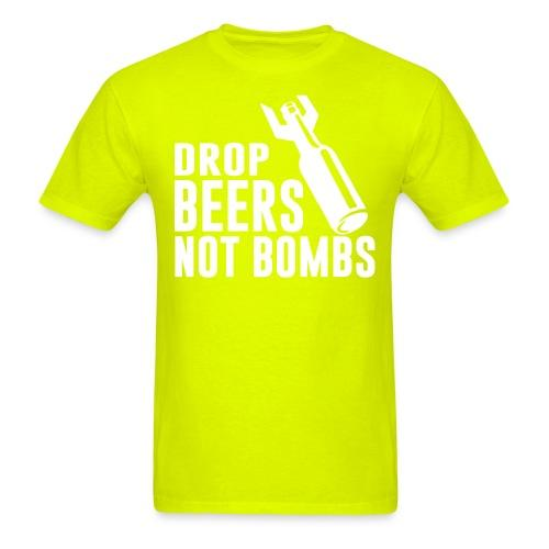 Drop beers not bombs
