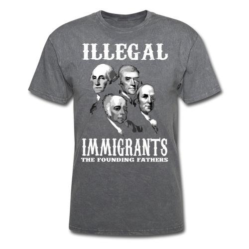 Illegal immigrants: the founding fathers
