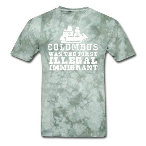 Columbus was the first illegal immigrant